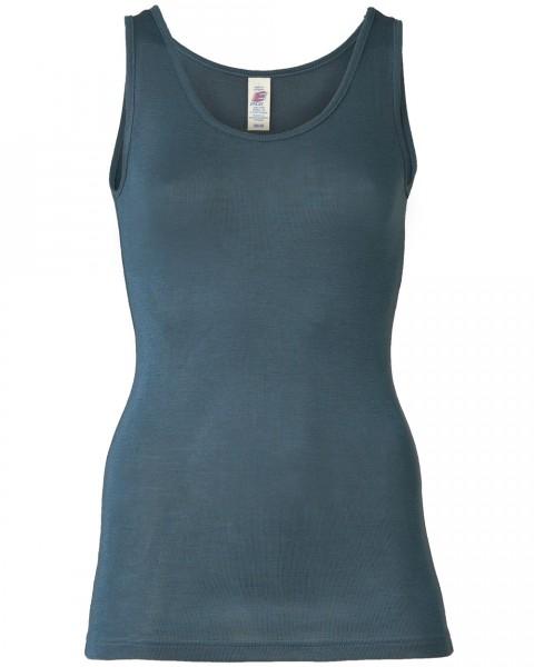 Damen Trägerhemd, Engel Natur, Wolle Seide, 6 Farben