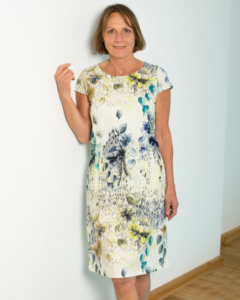 Alma & Lovis, Art-Flower Kleid, 100% Baumwolle (kbA)