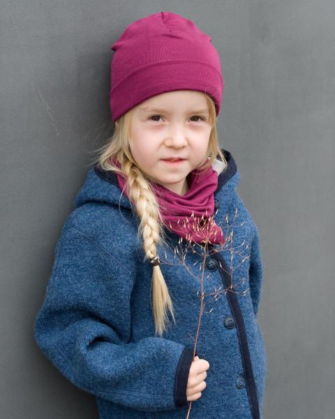 Engel Natur, Baby und Kinder Mütze, 70% Wolle 30% Seide