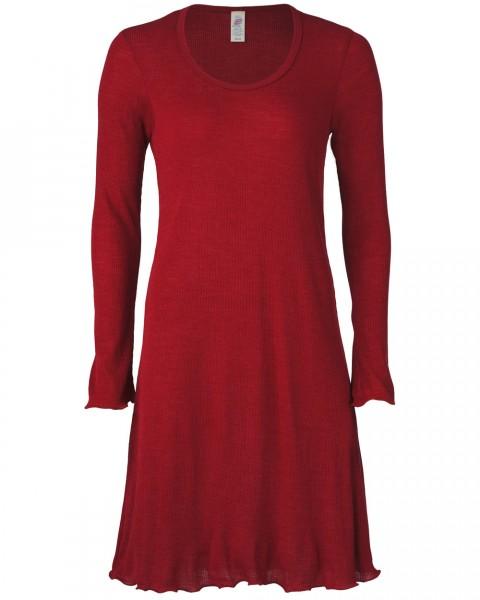 Damen Nachthemd, Engel Natur, Wolle Seide