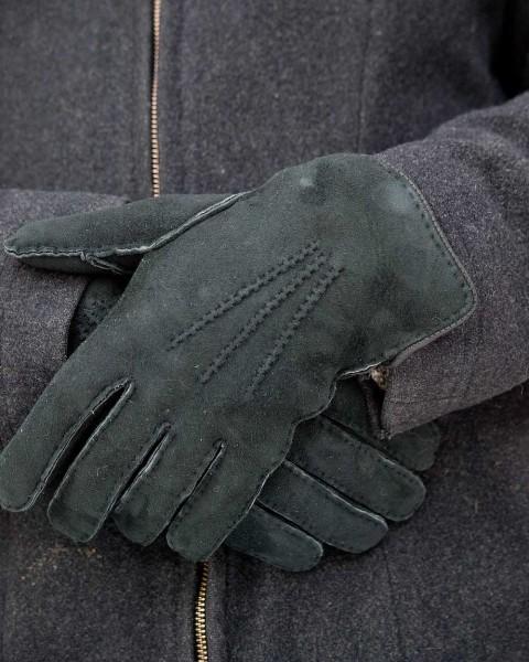 Herren Fingerhandschuhe, Foster Natur, 100% Fell