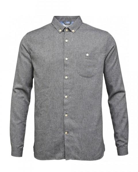 KnowledgeCotton, Flanell Hemd, 100% Baumwolle (kbA), 3 Farben
