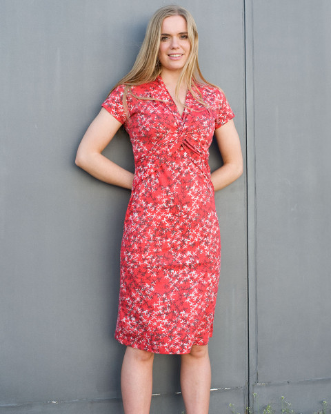 Nomads, Knoten Jersey Kleid, 100% Baumwolle (kbA)