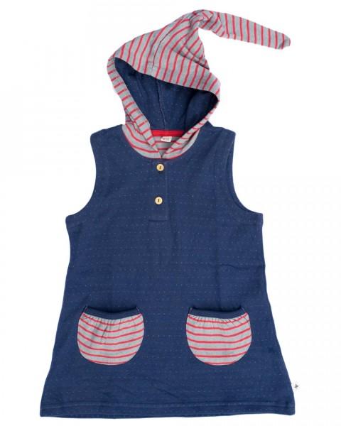 Leela Cotton, Kleid mit Kapuze, 100% Baumwolle (kbA)
