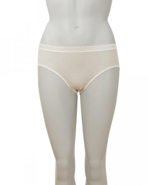 Cosilana Damen Slip mit elastischem Abschluß, 70 % Wolle (kbT) 30 % Seide